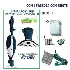 ASPIRAPOLVERE VORWERK FOLLETTO originale  VK135 CON HD 35  E ACCESSORI