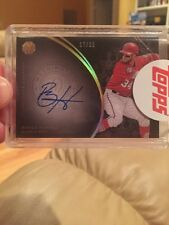 2016 Topps The Mint BRYCE HARPER #/55 On-Card Nationals Auto Sealed !