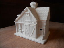 C-0885 Ceramic Bisque U Paint Christmas Village Blacksmith Shop