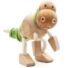 Tyrannosaurus / T REX - Wood Toy Dinosaur with flexible limbs || by ANAMALZ