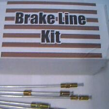 Brake line kit Ford Mercury 1965 1966 1967 1968 1969 -replace rusted lines!!!
