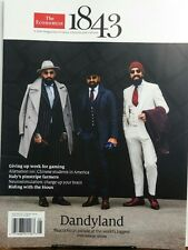 The Economist 1843 April May 2017 Dandyland Menswear Show FREE SHIPPING sb