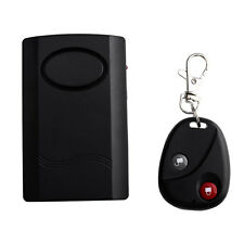 New Motorcycle Scooter Anti Theft Security Alarm System Black Safe Portable