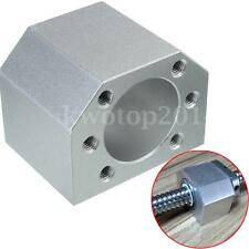 Aluminum Silver Ballscrew Nut Housing Bracket Holder Dia 28mm For 1604 1605 1610