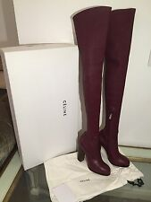 CELINE RARE Runway Thigh High Boots BRAND NEW Size 35 Will Fit 36 RRP £2100