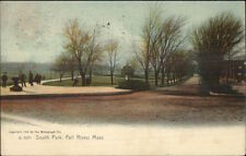 Fall River MA South Park c1905 Postcard #7