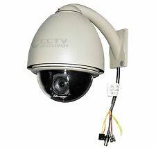 40% OFF! CCTV Auto-Tracking 560/680TVL 432x Zoom PTZ Dome Camera Outdoor NTSC