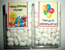 28 BABY SESAME STREET BIRTHDAY PARTY FAVORS TIC TAC LABELS