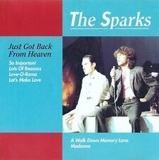 THE SPARKS : JUST GOT BACK FROM HEAVEN / CD