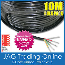 10M x 5-CORE MARINE GRADE TINNED WIRE - BOAT/TRAILER/AUTOMOTIVE/ELECTRICAL CABLE