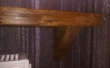 Handmade rustic Floating Radiator Shelf Reclaimed Antique Pine 500 mm Radiator