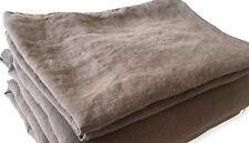 """Bettlaken Lacken """"Shadow"""" 140 x 220 cm 100% Leinen-industriell vorgewaschen"""