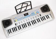54 teclas niños Keyboard piano con micrófono, fuente de alimentación, notas tirada
