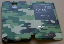 CUSTODIA CASE FLIP A LIBRO per APPLE IPHONE 4 4G 4S FASHION CAMOUFLAGE
