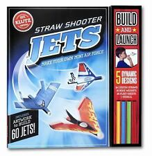Straw Shooter Jets : Make Your Own Mini Air Force by Klutz Editors and Karen...