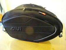 NEW Givi EA100B Expandable Saddle Bags Panniers Soft Luggage 40 Litre Capacity
