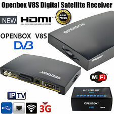 Openbox v8s Full HD 1080p Digital Box Ricevitore Satellitare Free TV SAT PVR Genuino