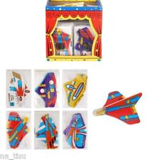 12 GLIDERS AIRPLANES toy Party Bags Filler GOODY gift kids reward pinata