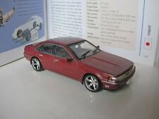 1/43 Norev Nissan Cefiro A31 (1988) diecast - custom wide wheels