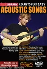 LICK LIBRARY Learn to Play EASY ACOUSTIC SONGS ED SHEERAN LESSON GUITAR DVD HITS