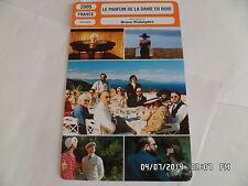 CARTE FICHE CINEMA 2005 LE PARFUM DE LA DAME EN NOIR Denis Podalydes S.Azema