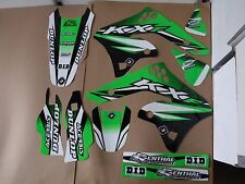 FLU DESIGNS PTS3 TEAM  KAWASAKI GRAPHICS  KX250F KXF250  2006  2007 2008
