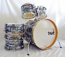 New Taye Drums TourPro 5 Piece Shell Pack In Black Oyster Finish