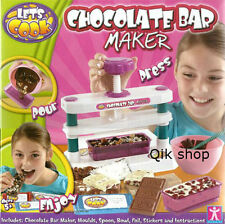 Let's Cook Chocolate Bar Maker Over 50 Sold Only Few Left