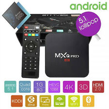MXQ PRO 4K Android 5.1 TV Box Quad Core 1GB/8GB Kodi Smart TV Media Player