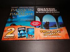 PASSION AND PARADISE & ONASSIS: THE RICHEST MAN IN THE WORLD-2 movies-True life