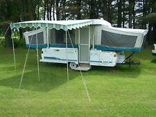"VINTAGE DELUXE AWNING 11' 9"" X 9' FLORENCE GREEN"