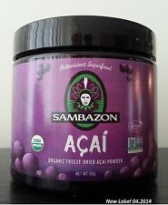 Sambazon Organic Acai PowerScoop Powder (90 gr) FREE SHIPPING