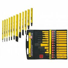 Stanley 12 Pc Piece 4-18-299 Punch & Cold Chisel Set Centre & Pin STA418299 NEW