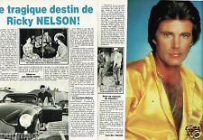 Coupure de Presse Clipping 1986 (2 pages) Ricky Nelson