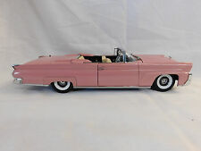 1958 LINCOLN CONTINENTAL MARK III CONVERT SUN STAR CAR PINK 1:18 SCALE EXCELLENT