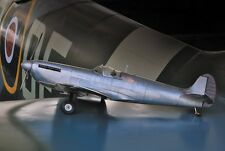 Spitfire Fighter 1940s Aluminum Scale Model Airplane