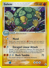 Golem Holo Rare Pokemon Card EX-Legend Maker 6/92