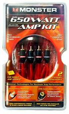 Monster Cable BAIP 650 High Performance Amp Power Kit - 650 Watts