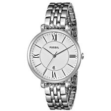 Fossil Women's Jacqueline ES3433 Silver Stainless Steel Quartz Watch