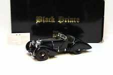 "1:24 CMC Mercedes SSK ""Black Prince"" black -boxed bei PREMIUM-MODELCARS"