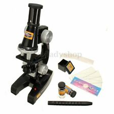 100X - 450X Educational Starter Biological Microscope Kit Kids Students Lab Toy