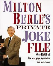 Milton Berle's Private Joke File: Over 10,000 of His Best Gags, Anecdo-ExLibrary