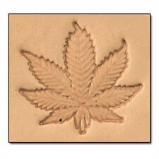 8619 Craftool 3-D Stamp Hemp Marijuana Pot Tandy Leather 8619-00