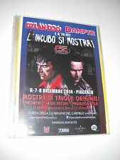 DYLAN DOG E DAMPYR L' INCUBO SI MOSTRA !! FLYER PUBBLICITARIO MOSTRA