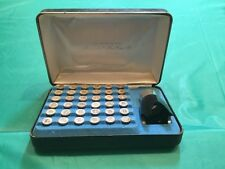 Franklin Mint Presidential Mini-Coin Set Sterling Silver 1st Edition 36 Coins