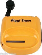 Ciggi Macchinetta rolla sigarette Super/Plastica orange/Dispositivo a leva/15 x