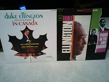 DUKE ELLINGTON NORTH OF BORDER CANADA/PIANO IN THE FOREGROUND 2-LP EXC+JAZZ STER