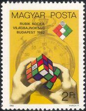 Hungary 1982 Rubik's Cube/Championships/Toys/Games/Sports/Stopwatch 1v (n45205)