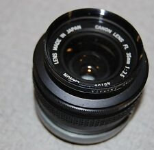 Canon FL 35mm 1:3.5 45156 Lens + Vivitar 48mm Skylight (IA) Filter §