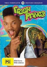 ●● THE FRESH PRINCE OF BEL-AIR ●● Season 2 (DVD, 2006, 4-Disc Set) Will Smith